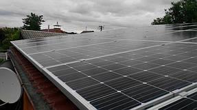 Сетевая солнечная станция для дачного дома 10 кВт 2
