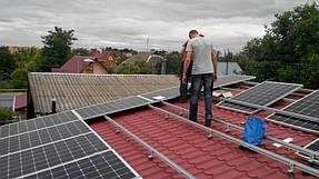 Сетевая солнечная станция для дачного дома 10 кВт 3