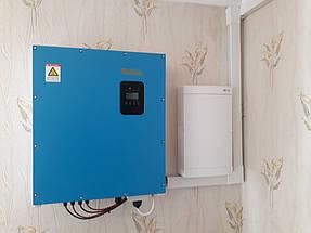 Сетевая солнечная станция для дачного дома 10 кВт 4