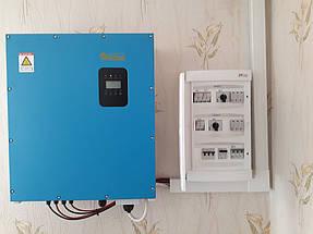 Сетевая солнечная станция для дачного дома 10 кВт 5