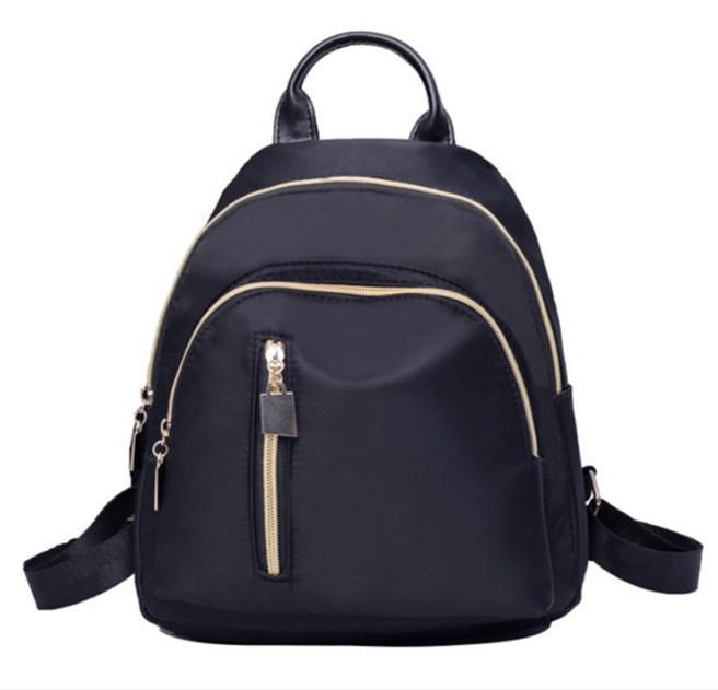 Стильный городской женский рюкзак черный