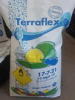 Терафлекс С (17-7-21 + MgO + TE ) для огурцов,кабачков баштанных культур,25 кг