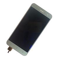 Оригинальный дисплей (модуль) + тачскрин (сенсор) для Asus Zenfone 3 ZE520KL (серебристый цвет)