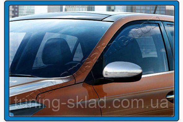 Хром накладки на зеркала Hyundai I-20 2014 (Хюндай)