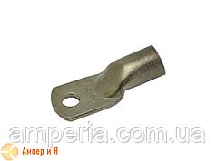 Медный луженый кабельный наконечник для опрессовки IEK JG-10