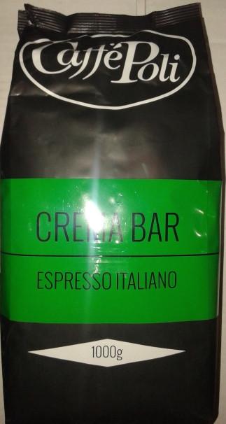 кофе поли Caffe Poli Crema Bar 1 кг