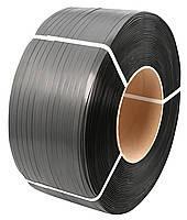 Лента полипропиленовая 16 х 0,8 мм черная усиленная