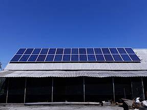 Сетевая солнечная станция с оптимизаторами 15 кВт г. Павлоград 1