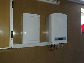 Сетевая солнечная станция с оптимизаторами 15 кВт г. Павлоград 3