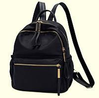 Стильный портфель для девочек черный
