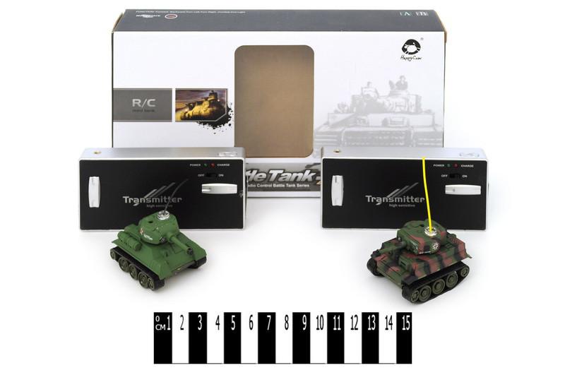 Радиоуправляемый танковый бой мини-танки 777-213, танк на радиоуправле