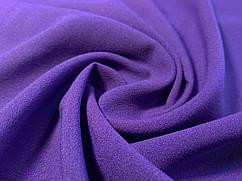 Креп-шифон, фиолетовый