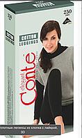 Леггинсы Conte Cotton плотность 250den размеры 5/6