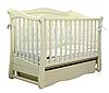 Детская кроватка Верес ЛД 18 Соня маятник/ящик слоновая кость
