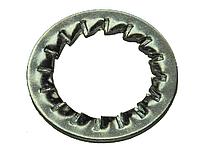 Шайба ГОСТ 10462-81 стопорная внутренние зубцы оц.
