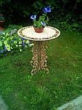 Столик ажурный,свадебный декор, фото 3