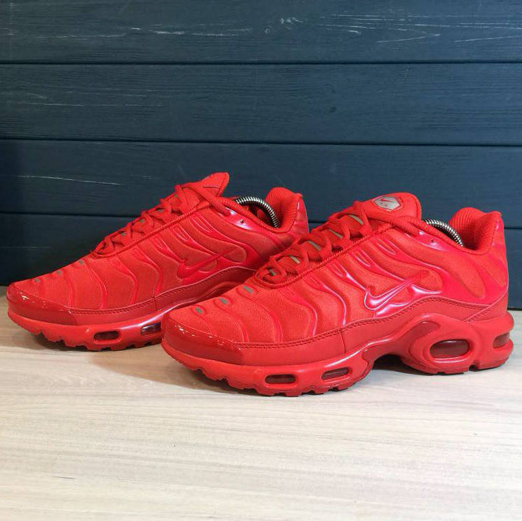 Nike Air Max Tn+ Red  (реплика)  43 и 44 размер