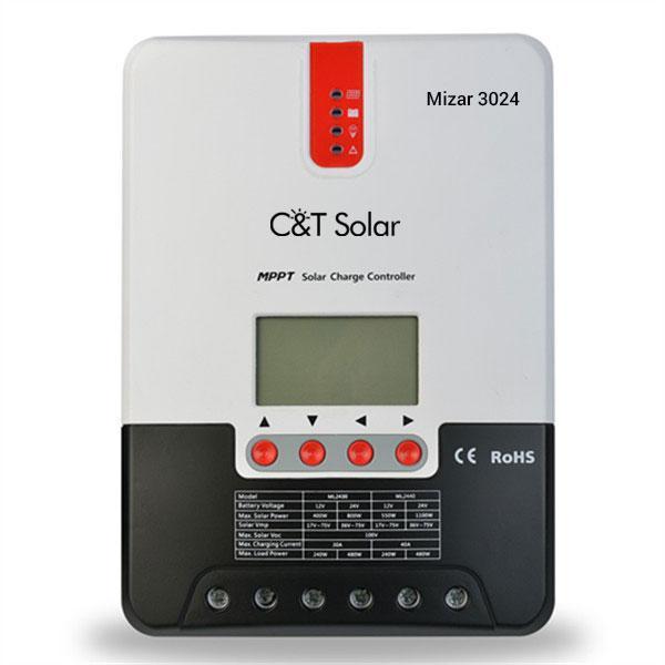 MPPT контролер заряду C&T Solar Mizar 3024 (30А 12\24В)
