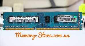 Оперативная память для ПК Hynix DDR3 4Gb PC3-12800 1600MHz Intel и AMD, б/у, фото 2