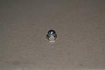 Гайка М10 DIN 1587 колпачковая, с мелким шагом резьбы, ГОСТ 11860-85, класс прочности 6.0