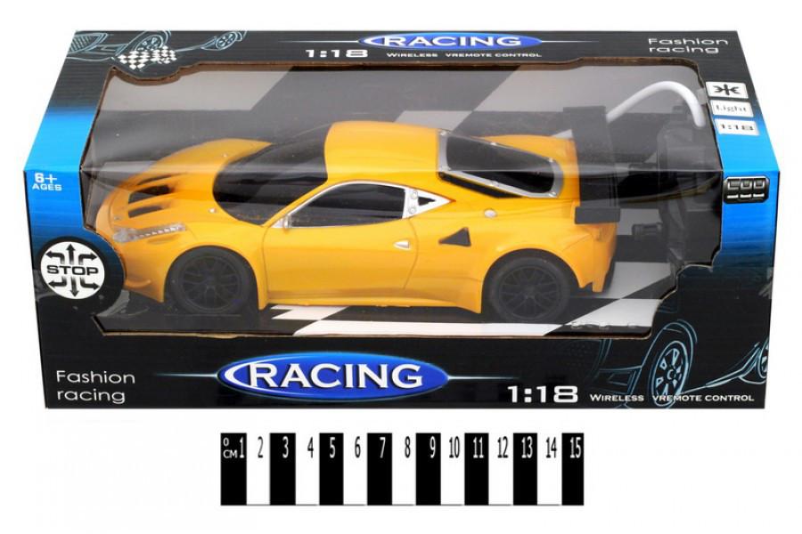 Машина на радиоуправлении 599-6, машинка масштаб 1:18, свет