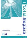 Total English New Elementary WorkBook+key+Audio CD