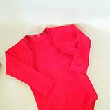 Бейсик рейтинговое платье на 7-8 лет красное  (съёмная юбка), фото 4