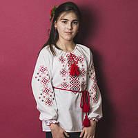 """Сорочка вишиванка дівчинка """" Орнамент"""" рр.146-164 / Вышиванка на девочку, фото 1"""