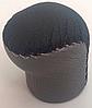 Ручка КПП Lanos (под кнопку) короткая кожа черный- серый ВК/GY Avtoban