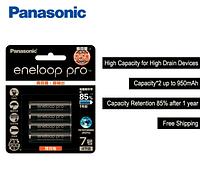 Аккумуляторная батарея Ni-MH Panasonic eneloop Pro AAA 950 мАч 4 шт (Оригинал)