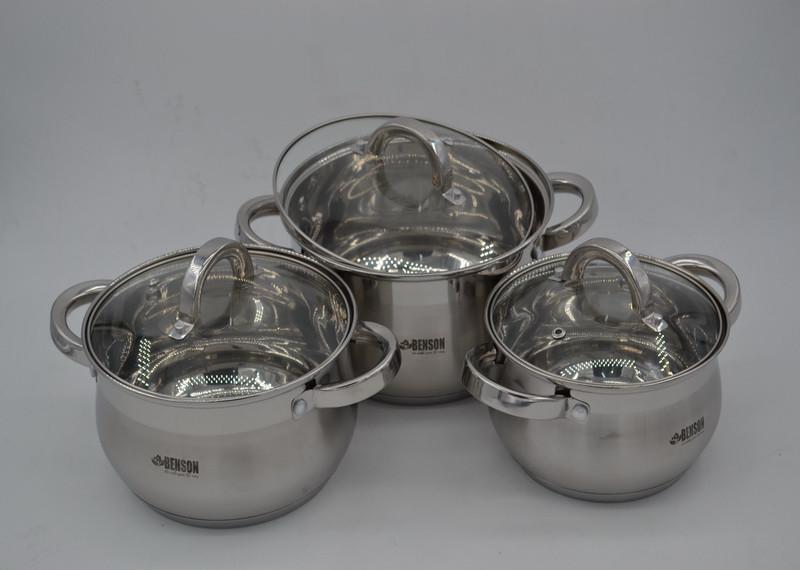 Набор посуды из 6 предметов Benson BN-209