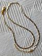 Серебряная цепочка косичка с родиевым покрытием, фото 2