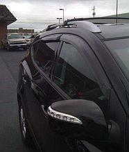 Дефлекторы окон (ветровики) Hyundai ix35 (хюндай их/ай-икс 35) 2010+