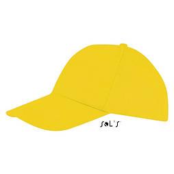 Кепка бейсболка 'SOL'S' 'BUZZ' 5 панелей липучка