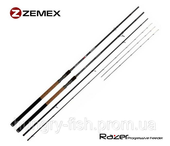 Фідерне вудилище zemex razer f-1 heavy feeder 13'ft - 110g