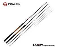 Фідерне вудилище zemex razer f-1 heavy feeder 13'ft - 110g, фото 1