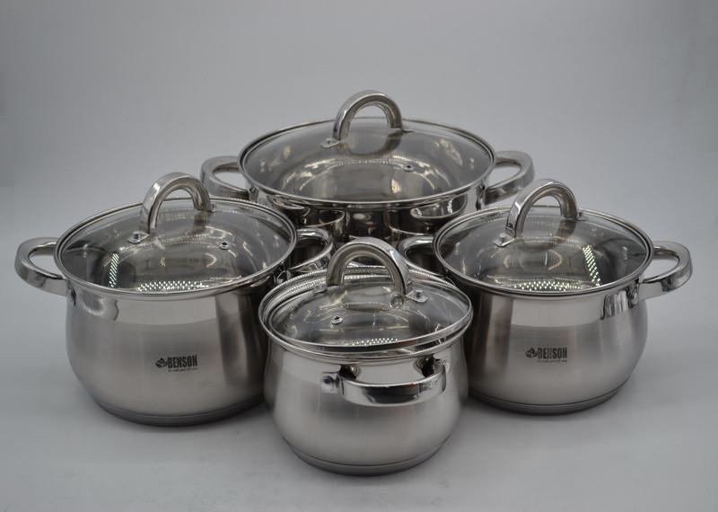 Набор посуды из 8 предметов Benson BN-210