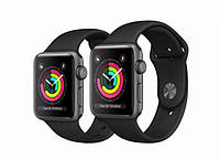 Apple Watch Series 3 GPS (MR352)38mm Space Gray Aluminum Case with Gray Sport Band