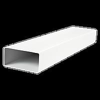 Канал пластиковый плоский 60/204, длина 1.5 м