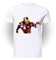 Футболка для девочек размер 152 GeekMand Железный Человек Iron Man Comic Art IM.01.003