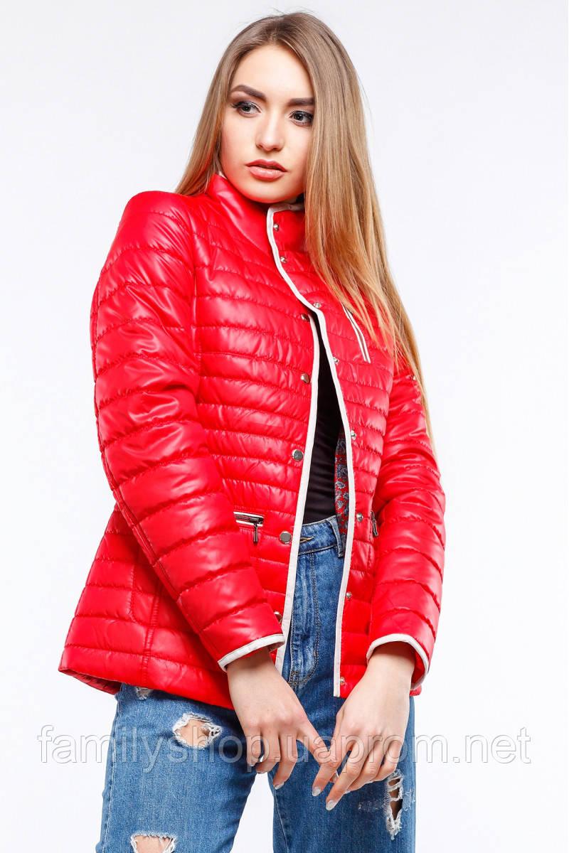Женская демисезонная куртка большого размера   Селена Nui Very (Нью вери)