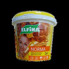 Краска интерьерная для стен и потолков Elfina Norma