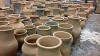 Глечики з глини червона глина горшок глиняний декоративний ручної роботи з натуральної глини.