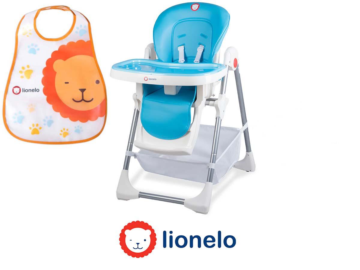 Кресло для кормления Lionelo Linn Plus Blue