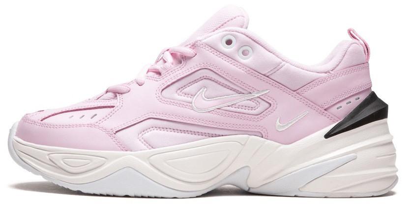 Женские Кроссовки Nike M2K Tekno Pink Foam (найк М2к Текно 2ad54beda77bc