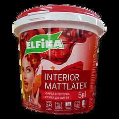Краска интерьерная Elfina Interior Mattlatex 1.4кг