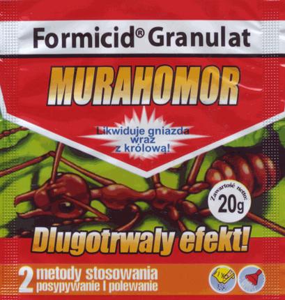 Инсектицид Мурахомор, 20 г — готовые гранулы для борьбы со всеми видами муравьев в помещении и на грунте, фото 2