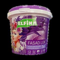 Фасадная краска Elfina Fasad Lux 1,4кг