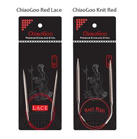 Чем отличаются ChiaoGoo RED Lace и Knit RED