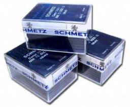 Игла для кожи Schmetz 134 LR 110/18 , машинные, с режущим острием, пластина 10 игл, фото 2
